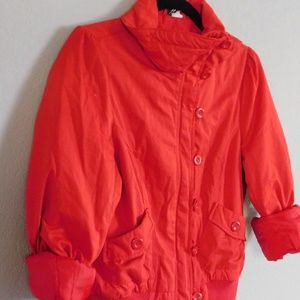 Red Puffy Jacket